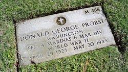 PFC Donald George Probst
