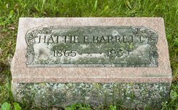 """Harriett E """"Hattie"""" <I>Erskine</I> Barrett"""