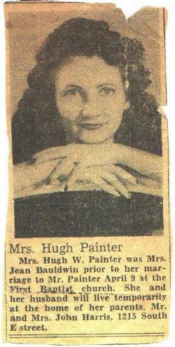 Gladys Virginia Emma Jean <I>Harris</I> Painter