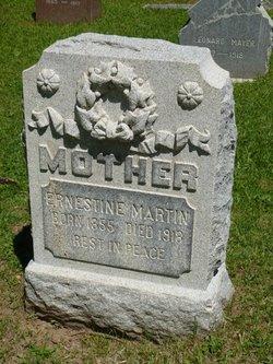 Ernestine <I>Klinke</I> Martin