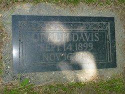 Oral H Davis