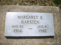 Margaret E <I>Frenk</I> Karsten