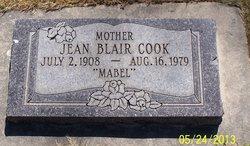 """Mabel Jean """"J.C."""" <I>Griffiths</I> Blair"""