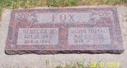 Rebecca Ann <I>Batty</I> Fox