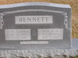 Mary <I>Connell</I> Bennett