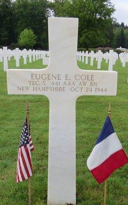 Tec5 Eugene E Cole