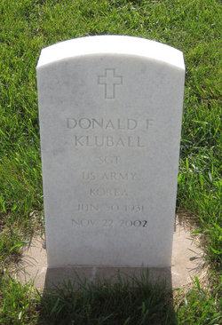 Donald F Kluball