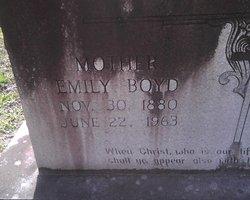 Emily Zilphey <I>Lee</I> Boyd