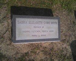"""Sabra Elizabeth """"Betty"""" <I>Gore</I> Boyd"""