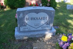 Joyce Louise <I>Drumheller</I> Burkhardt