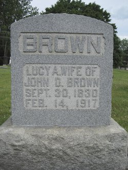 Lucy <I>Armstrong</I> Brown