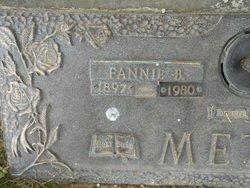Fannie Belle <I>Metts</I> Metts