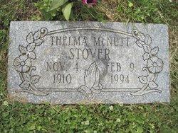 Thelma <I>McNutt</I> Stover