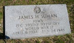 PFC James Harold Suman