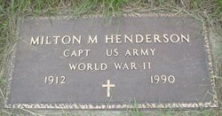 Milton McMichael Henderson