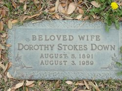 Dorothy Chappell Stokes Down
