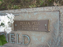 Delia Savannah <I>Pell</I> Burchfield