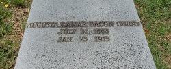 Augusta Lamar <I>Bacon</I> Curry