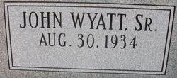 John Wyatt Daniell, Sr