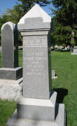 Ella Rose <I>Adams</I> Dawson