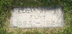 Eliza Hannah <I>Beesley</I> Flint
