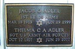 Jacob O Adler