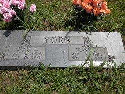 "Franklin Charles ""Frank"" York"