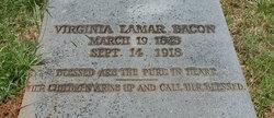 Virginia L. <I>Lamar</I> Bacon