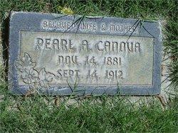 Annie Pearl <I>Canova</I> Atkinson