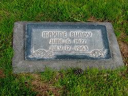 Maxine <I>Bundy</I> Bryant