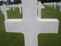 2Lt Russell Reykjalin