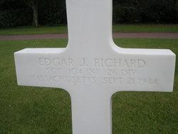 Sgt Edgar J Richard