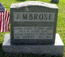 Sarah Ellen <I>Keefer</I> Ambrose