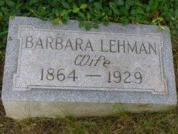 Barbara <I>Koettel</I> Lehmann
