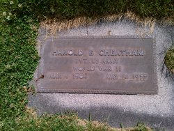 Harold Edwin Cheatham