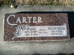 Thelma Boyer Carter