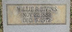 Willie R Bivins