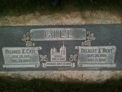 """Delbert Irvin """"Bert"""" Gill"""