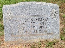 Rev Don Kimsey
