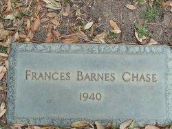 Frances Estella <I>Barnes</I> Chase