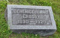 Berenice <I>Land</I> Crosby