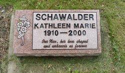 Kathleen Marie <I>Carpenter</I> Schawalder