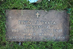 Elvin J Vaala