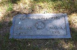 Edith <I>Noxon</I> Corbin