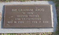 Alberta Fay <I>Ridgdill</I> Argo