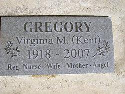 Virginia May <I>Kent</I> Gregory
