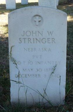 John W Stringer