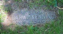 Clara P. Kennings