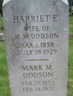 Harriet E Dodson