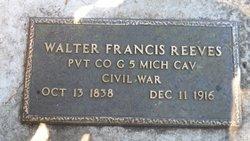 Walter Francis Reeves